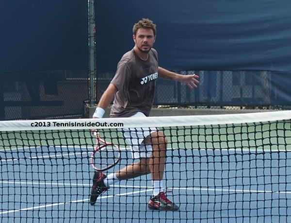 Western and Southern US Open series Stan slice volley backhand pictures semifinals win