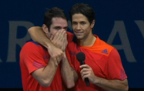 David Marrero Fernando Verdasco World Tour Finals doubles victory 2013