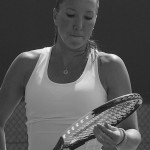 Cincy tennis Jelena Jankovic practice close-up