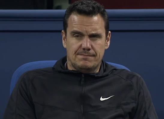 Roger Federer physio now with Grigor Dimitrov Stephane Vivier