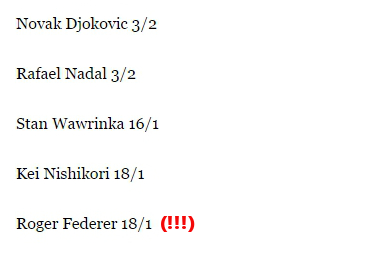 French Open Top 5 Odds to Win from ibtimes dot com 2015