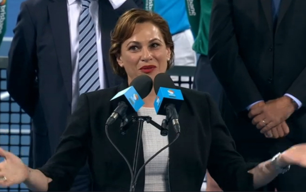 Jackie Trad speech Brisbane final